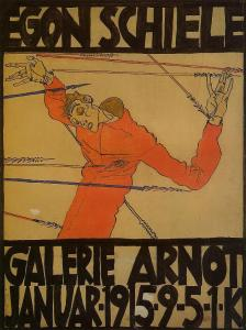 self-portrait-as-st-sebastian-poster-1914