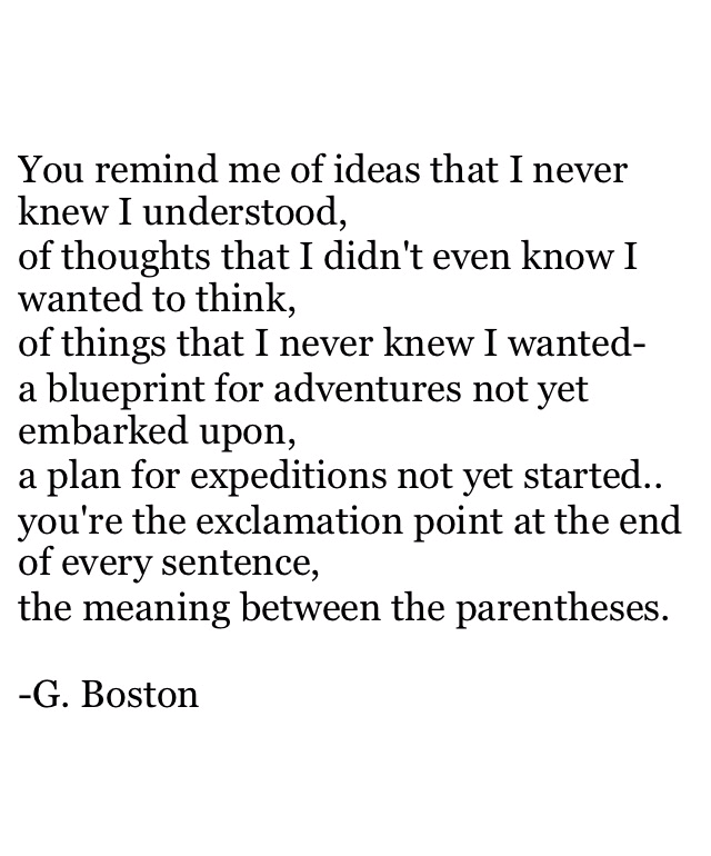 sentence | musings at random.