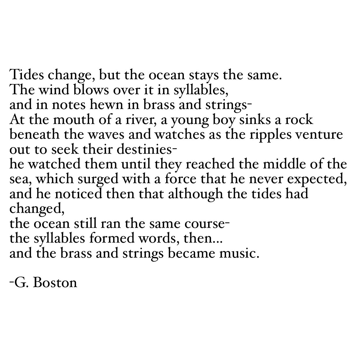 Poems About Change 5