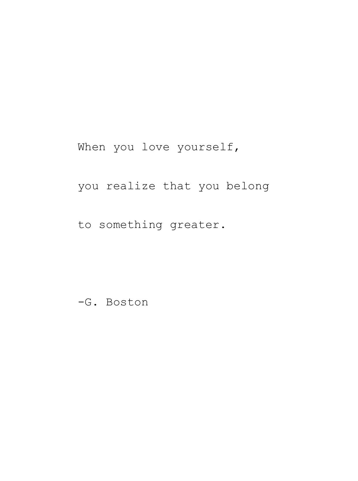 Love Poem Quotes Self Love  Musings At Random.